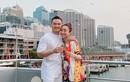 Diễn viên Chi Bảo và Lý Thuỳ Chang tình tứ đi du lịch Úc