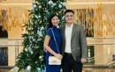 Hoa hậu Ngọc Hân hạnh phúc đón Giáng sinh cùng chồng sắp cưới