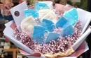 Đón Valentine giữa mùa dịch, Lâm Tâm Như được tặng bó hoa kết từ khẩu trang