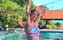 """Lê Phương quyến rũ hút mắt ở bể bơi nhờ giảm cân """"chóng mặt"""""""