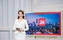 Á hậu Thụy Vân xinh đẹp lên sóng VTV sau tin đồn nghỉ việc