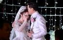 Vợ doanh nhân rơi nước mắt trong lễ cưới với diễn viên Quý Bình