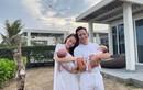 Hồ Ngọc Hà - Kim Lý hạnh phúc bên hai con song sinh