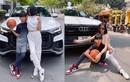 Con trai Lệ Quyên: Đi chơi trên siêu xe Audi, chân mang Air Jordan