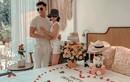 Lệ Quyên ôm ấp Lâm Bảo Châu cực tình đón sinh nhật sớm