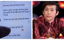 """Một người dân miền Trung tung tin nhắn """"minh oan"""" cho Hoài Linh"""