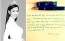 Dòng chữ viết tay cuối cùng của Hoa hậu Thu Thủy trước khi qua đời
