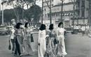 Nao lòng trước vẻ đẹp áo dài phụ nữ Sài Gòn xưa
