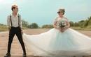 Bộ ảnh cưới bà nội - cháu trai khiến cư dân mạng choáng váng cực độ