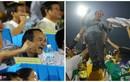 """""""Chộp"""" khoảnh khắc bầu Đức vỡ òa trong chiến thắng của U19"""