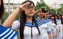 Ngắm đồng phục kiểu lính Hải quân của teen THPT Nhân Việt