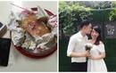 """""""Soái ca"""" 9X tặng vợ sắp cưới bánh kem kẹp iPhone 7"""
