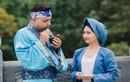 """Ảnh cưới cổ tích """"cô Tấm"""" của cặp đôi dâu Việt - rể Tây"""