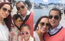 Gia đình Thúy Hạnh - Minh Khang hạnh phúc ở Hong Kong