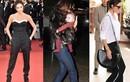 Victoria Beckham nghiện mốt quần dài trùm giầy