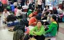 Ảnh Ga Sài Gòn đông đúc hành khách ngày cận Tết