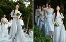 Lưu Diệc Phi làm phù dâu xinh tươi trong tiệc cưới bạn thân