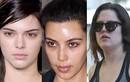 Phát hoảng khi chị em nhà Kim Kardashian không trang điểm