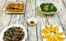 Thịt trâu xào lá lốt, canh rau nấu sườn siêu hấp dẫn