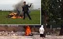 """Cô gái tự đốt xe máy trong công viên: Có bị xử lý như Khá """"Bảnh""""?"""