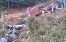 Tai nạn liên hoàn trên QL9, 5 xe ô tô lật văng
