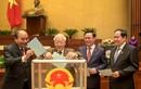 Ông Nguyễn Xuân Phúc được đề cử để Quốc hội bầu làm Chủ tịch nước