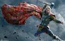Ảnh chế biệt đội Avengers diện thời trang chăn con công
