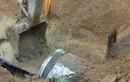 Vỡ đường ống nước sông Đà nước sạch được cấp trở lại