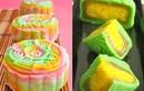 Cách làm bánh trung thu 7 màu cầu vồng