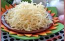 Tự làm mứt khoai tây bào sợi đón Tết
