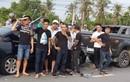 Vụ giang hồ vây xe chở công an: Bị hại yêu cầu khởi tố vụ án