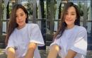 Chăm diện áo phông, Hoa hậu Tiểu Vy có 101 cách mix đồ cực khéo