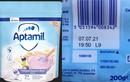 Thu hồi bột ngũ cốc Aptamil cho trẻ chứa mẩu nhựa