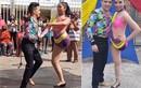 Cô gái một chân khiến dân mạng thán phục với màn nhảy salsa gợi cảm