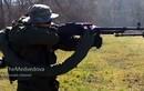 """Quân ly khai Ukraine trang bị súng PKM có băng đạn """"khủng"""""""