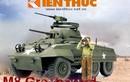 Infographic: Xe thiết giáp đầu tiên của QĐND Việt Nam