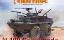Infographic: Ô tô bọc thép V-100 Commando trong CT Việt Nam