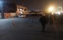 Ảnh nóng hiện trường tài xế taxi bị cứa cổ trước cửa SVĐ Mỹ Đình