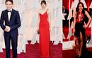 Những hình ảnh đầu tiên trên thảm đỏ Oscar 2015
