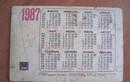 Vì sao Dương lịch năm 1987 trùng khớp lịch năm nay?