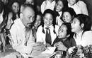 Xúc động hình ảnh muôn đời giá trị về Chủ tịch Hồ Chí Minh