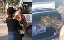 """Lái xe """"tiếp tế"""" lương thực để phản đối BOT Bắc Thăng Long - Nội Bài"""