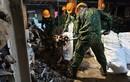 Cháy nhà máy Rạng Đông: Tẩy sạch 2000m2 giai đoạn 1