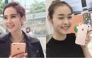 """Hot girl Việt """"đua"""" khoe iPhone 6S """"cẩm hường"""" mới tậu"""