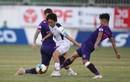 """Cầu thủ """"hiền nhất đội Sài Gòn FC"""" ném bóng thẳng mặt Hồng Duy"""