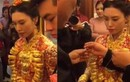Lóa mắt đám cưới trĩu vàng của con gái đại gia Trung Quốc