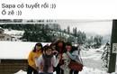 Vạch mặt thanh niên loan tin tuyết rơi ở Sapa