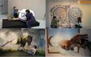 Giới trẻ Hà thành thích thú với triển lãm tranh 3D khủng