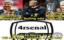 Ảnh chế bóng đá: Arsenal lại rơi tự do
