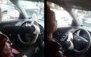 A đây rồi: Tài xế lái ô tô bằng chân trên phố Hà Nội